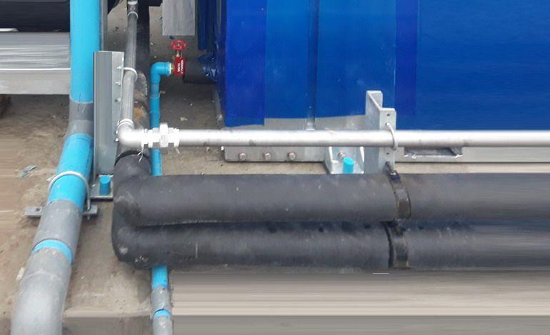 Bảo ôn đường ống máy chiller